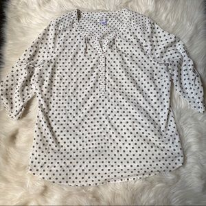 women's croft and barrow flower blouse